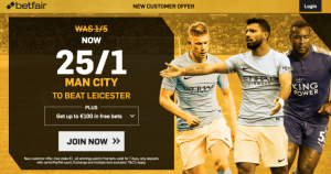 Free bets Saturday 10th February 2018